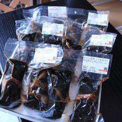 黒毛和牛すじ肉の昆布巻 (2本入り) 480円
